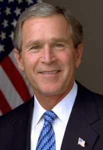 george w bush thank w 207x300 Bush speaks out
