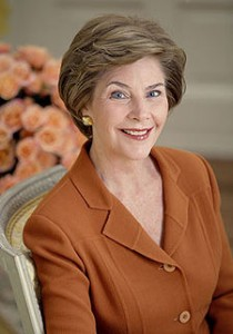 laura bush thankw 210x300 A class act and wonderful First Lady