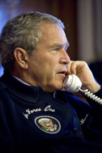 president bush air force one 200x300 Name that President