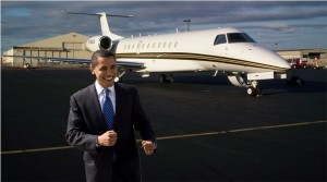 obama on jet 300x167 Ill Take Mine Black