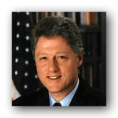 clinton early years Grace under pressure