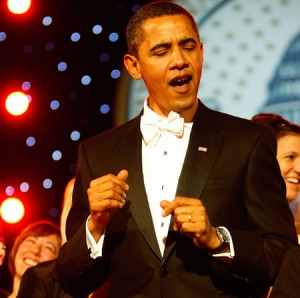 obama dancing thankw 300x298 The Great Divide