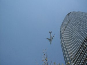 air force one close to bldg thankw 300x224 We have forgotten