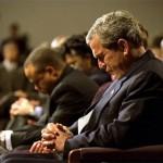 bush praying thankw 150x150 Prayer of a righteous man