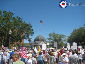 ocala florida tea party 300x225 Ocala tea party is a huge success