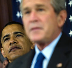 picture 3 Headline; Bush 3rd term a Bust!